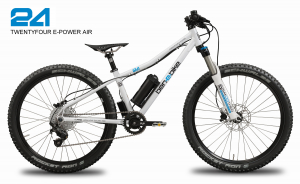 TWENTYFOUR E-POWER AIR - das kindgerechte E-Bike