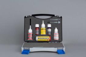 Schwanheimer Reparatur-Set im Koffer