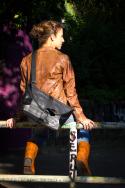 Tasche 7.1 aus Fahrradschlauch