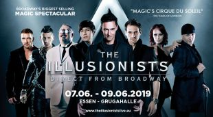 "Broadway-Show ""The Illusionist"" kommt nach Essen"