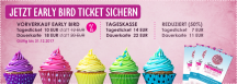 Cake & Bake Germany - Ticket sale started