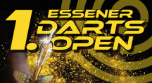 Darts Open am 22. Februar in der Grugahalle