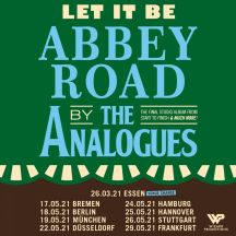 THE ANALOGUES Let It Be: Abbey Road 2020